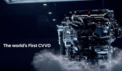 The CVVD engine technology on the all-new Hyundai Bayon.